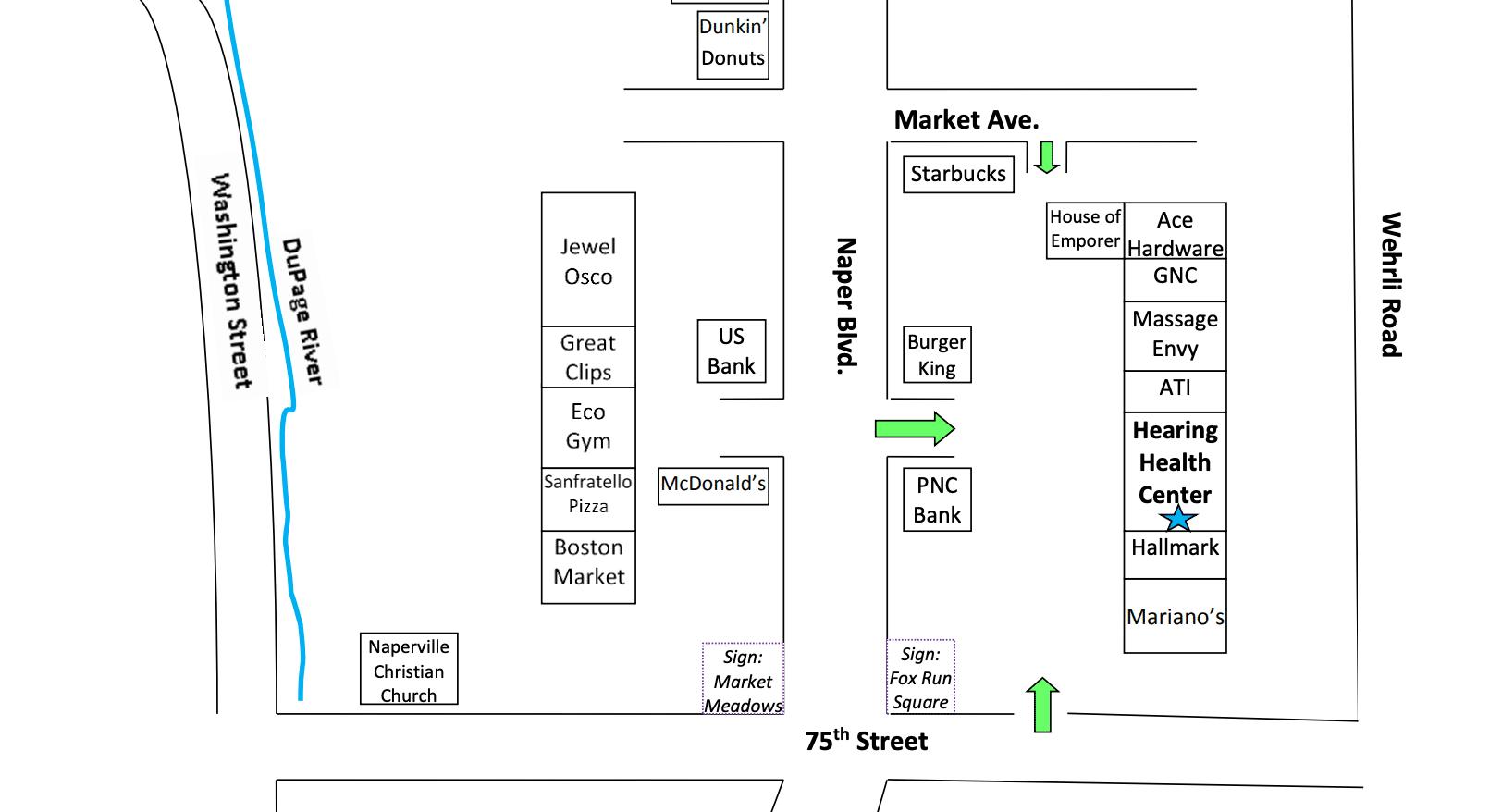 Hearing Health Center Naperville Location