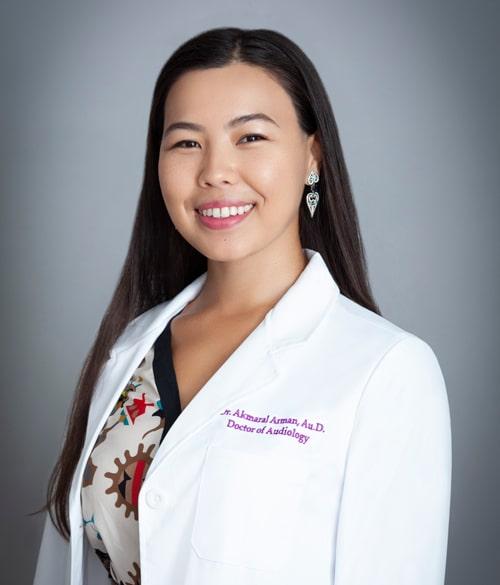 Hearing-Health-Center-Dr-Akmaral-Arman-AuD-Audiologist-Portrait
